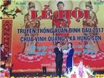Thanh Miện - Hải Dương: Xã Hùng Sơn tổ chức Lễ hội truyền thống chùa Vinh Quang