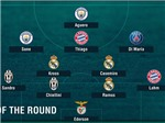 Đội hình tiêu biểu lượt đi vòng 1/8 Champions League: Vinh danh Kroos, Di Maria, Aguero