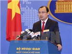 Bộ Ngoại giao lên tiếng về việc Trung Quốc xây dựng hơn 20 cấu trúc trên các đảo nhân tạo ở Biển Đông