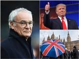 HLV Klopp ví việc Ranieri bị sa thải giống Donald Trump trúng cử Tổng thống Mỹ
