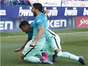 Atletico Madrid 1-2 Barcelona: Messi tỏa sáng, Barca quyết đua vô địch với Real Madrid