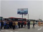 VIDEO: Đối thoại căng thẳng vụ 100 xe khách xếp hàng trên cao tốc