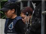 Hình ảnh hai nghi phạm giết ông Kim Jong-nam tại phiên xét xử