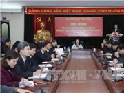 Hội nghị Báo cáo viên các tỉnh phía Bắc: Kịp thời đấu tranh, phản bác các quan điểm sai trái